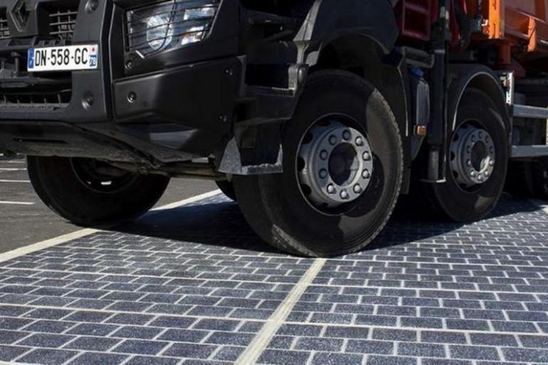 La route solaire de Colas