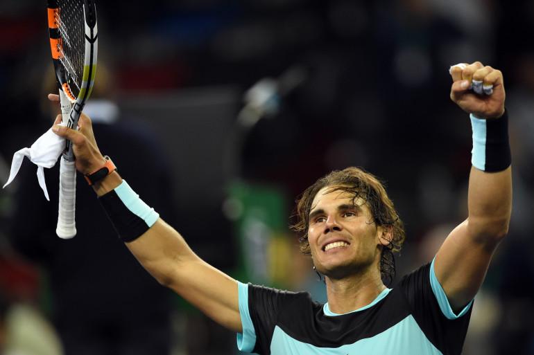 Rafael Nadal en octobre 2015 à Shangaï