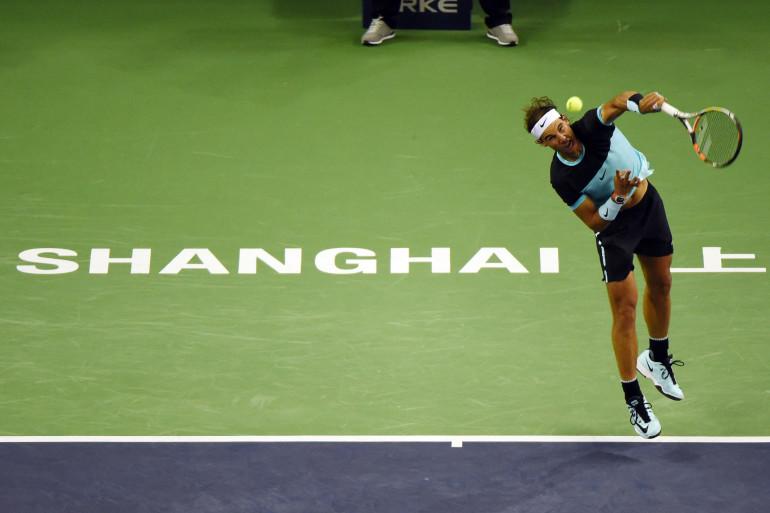 Rafael Nadal à Shangaï en octobre 2015