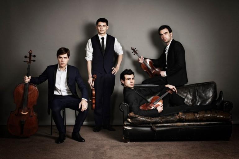 Le quatuor Modigliani revient avec un nouvel album