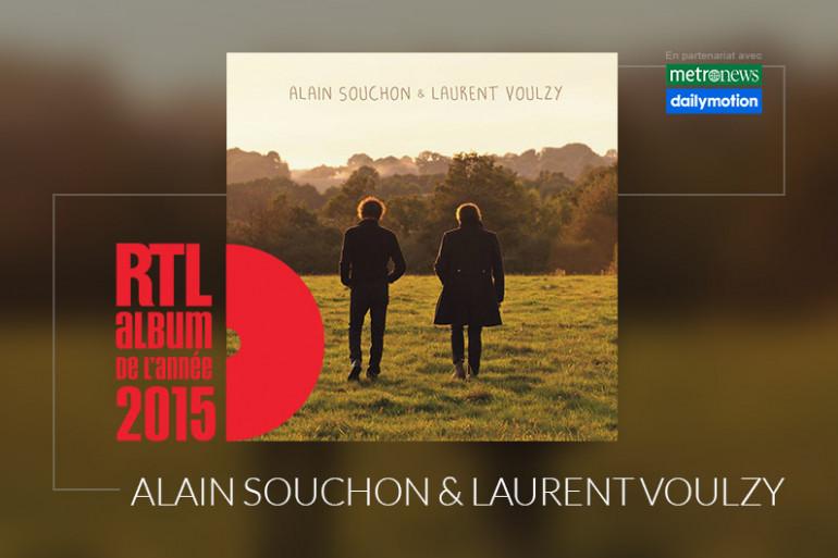 Alain Souchon et Laurent Voulzy sont en lice pour l'Album RTL de l'année 2015 avec leur disque éponyme