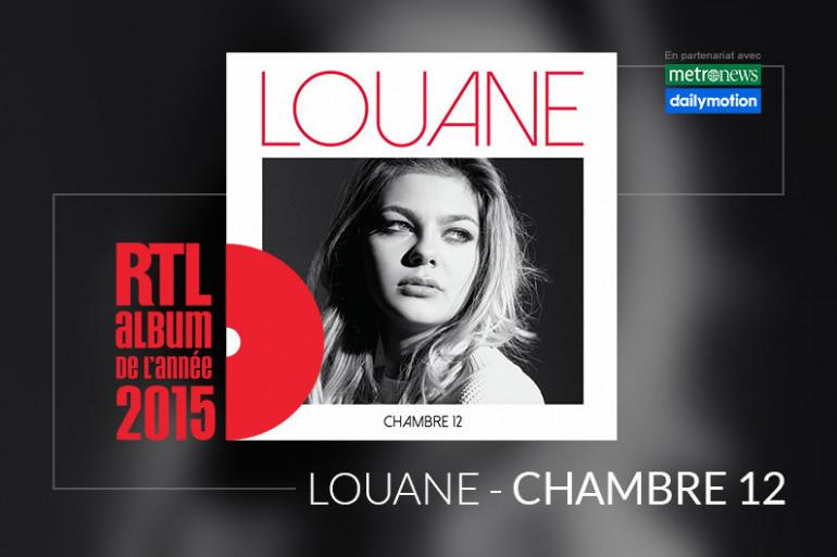 """Louane est en lice pour l'Album RTL de l'année 2015 avec l'album """"Chambre 12"""""""