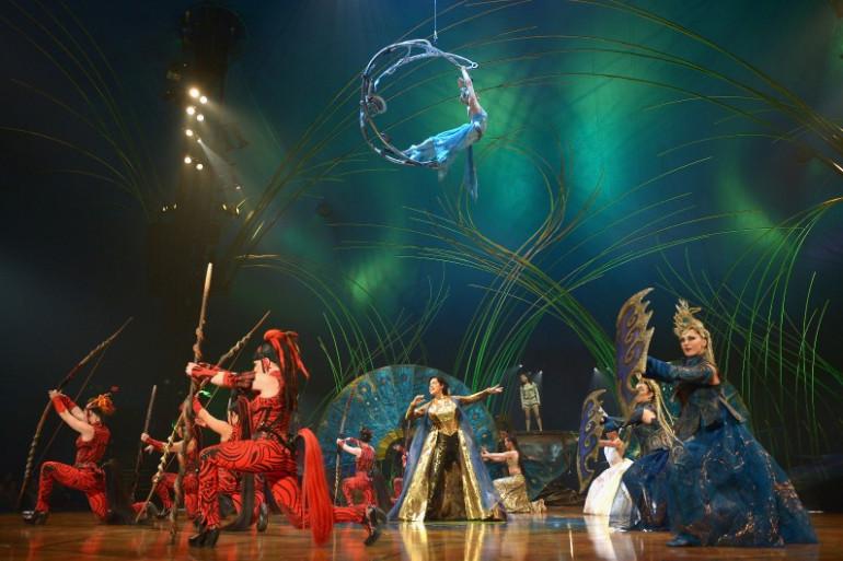 """""""Amaluna"""", le nouveau spectacle du Cirque du Soleil"""