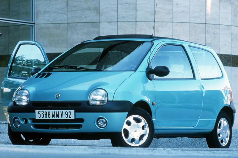 Un modèle de la première version de la Renault Twingo