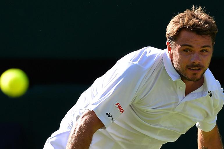 Stan Wawrinka à Wimbledon le 29 juin 2015 (archives)