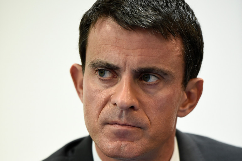 Manuel Valls le 26 octobre 2015.