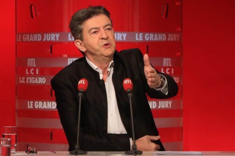 """Jean-Luc Mélenchon s'est attaqué les impôts loaux au """"Grand Jury"""" sur RTL, dimanche 1er novembre"""