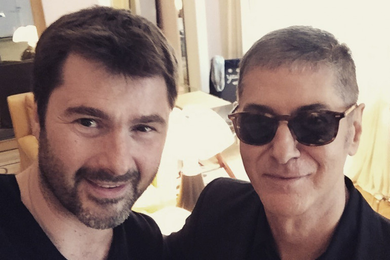Etienne Daho et Eric Jean-Jean