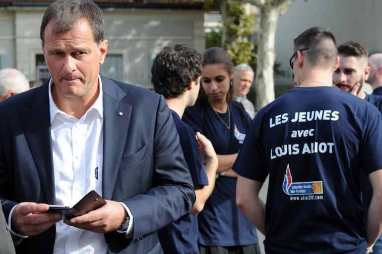 Louis Aliot, le 17 octobre 2015