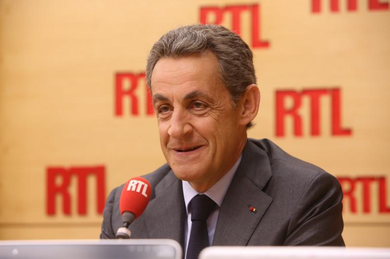 Nicolas Sarkozy, invité de RTL, a mis en garde contre la montée du FN