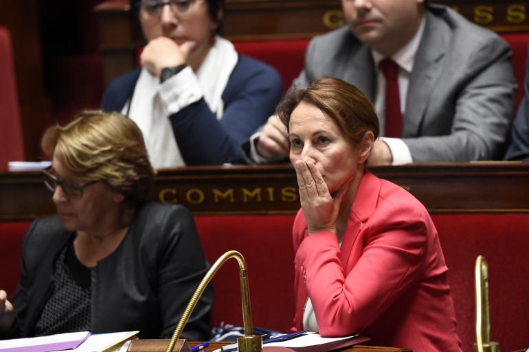 Ségolène Royal, à l'Assemblée nationale