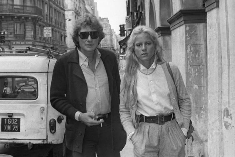 Johnny et Sylvie en septembre 1978 à Paris