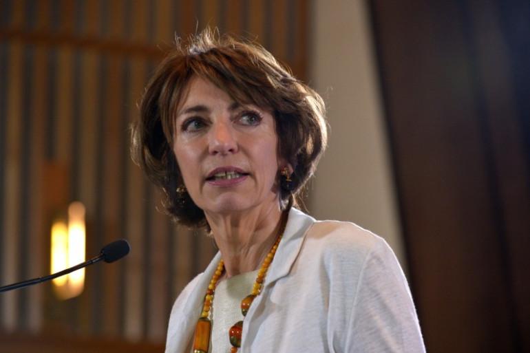 La ministre de la Santé Marisol Touraine à Paris le 24 septembre 2015.