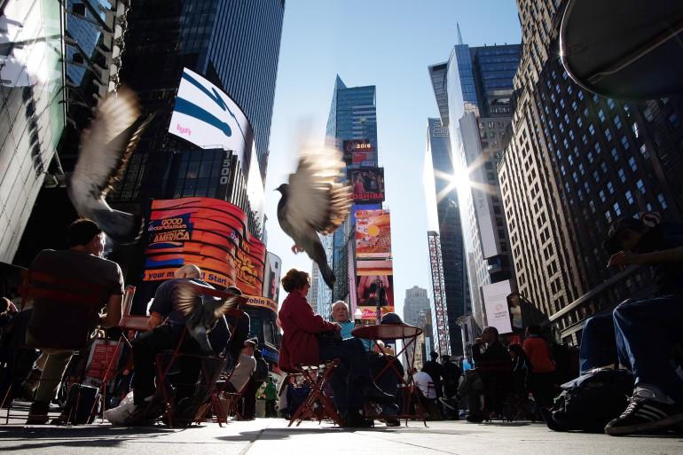 Record de chaleur à New York pour un 6 novembre