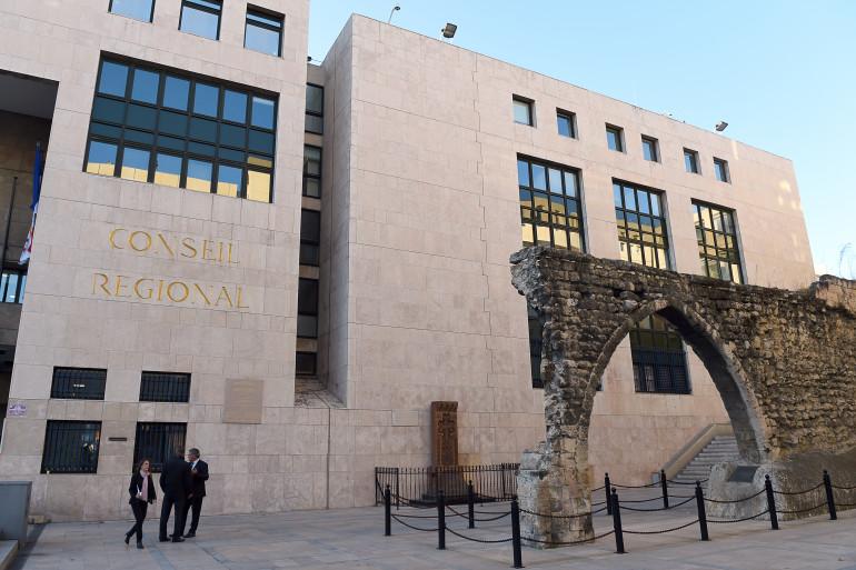 le Conseil régional de Provence-Alpes-Côte d'Azur à Marseille