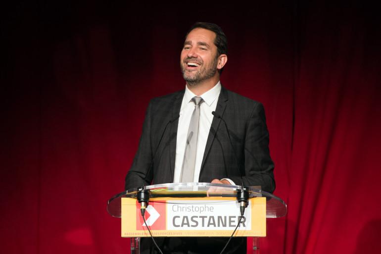 Christophe Castaner, tête de liste socialiste à la présidence de la région PACA