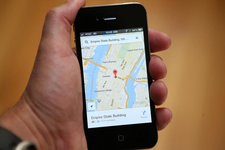 Google Maps revendique plus de 250 millions d'utilisateurs à travers la planète