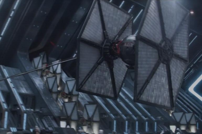 S'agirait-il du vaisseau avec lequel Finn prend la fuite ?