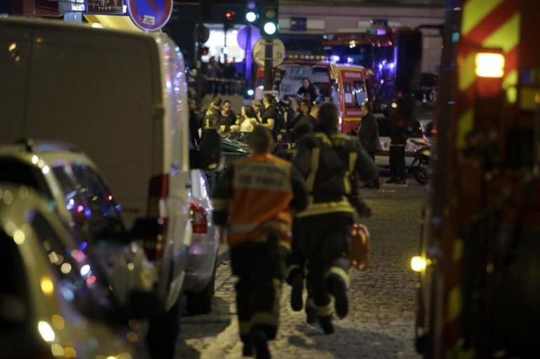 Des secours près de la rue Bichat dans le 10e arrondissement