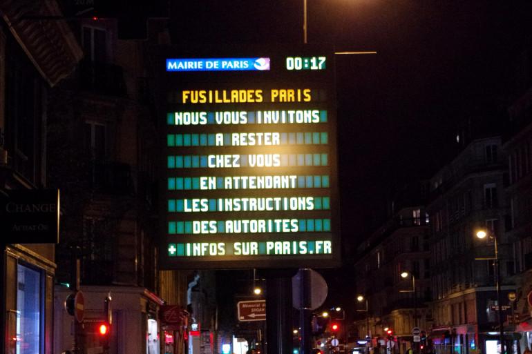 La mairie de Paris a demandé aux Parisiens de rester chez eux