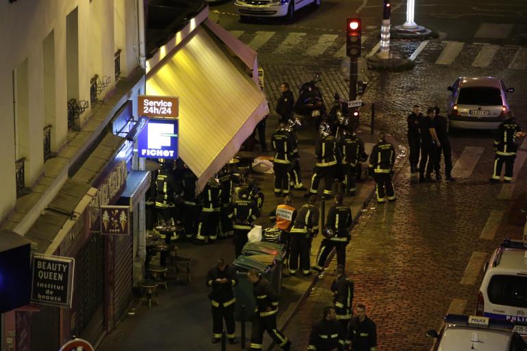 Les Parisiens attablés aux terrasses des cafés du secteur de République ont été la cible de plusieurs tireurs