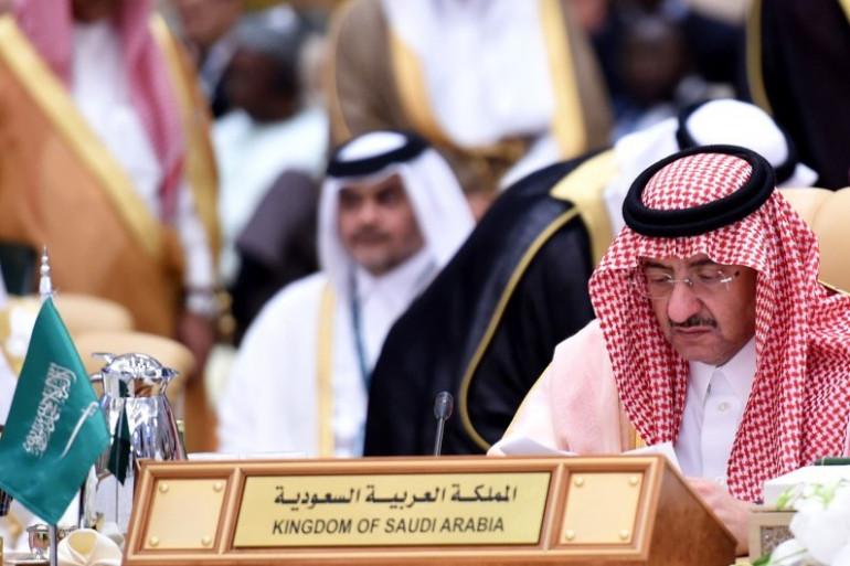 Le prince héritier et vice-Premier ministre d'Arabie saoudite, Mohammed ben Nayef Al Saoud