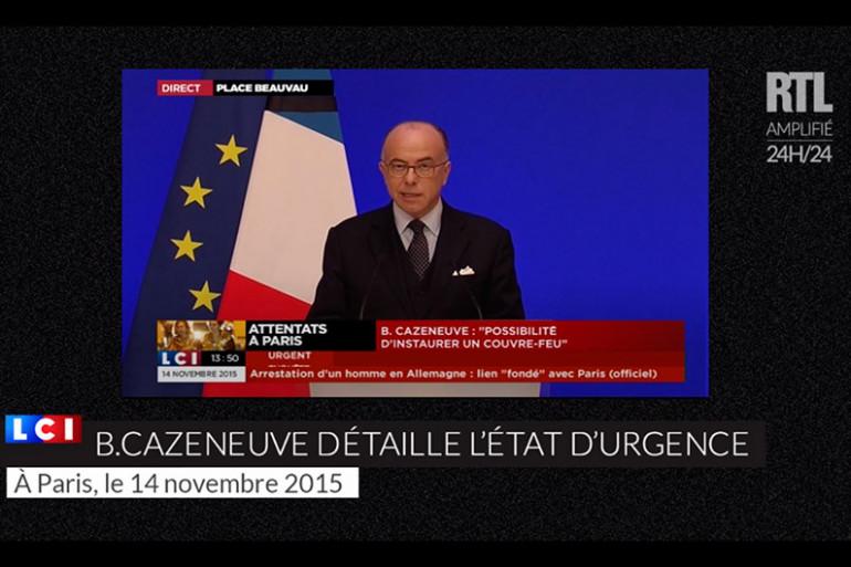 Bernard Cazneuve détaille ce qu'implique l'état d'urgence