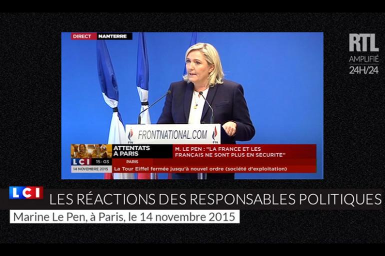 Les réactions des responsables politiques après les attentats