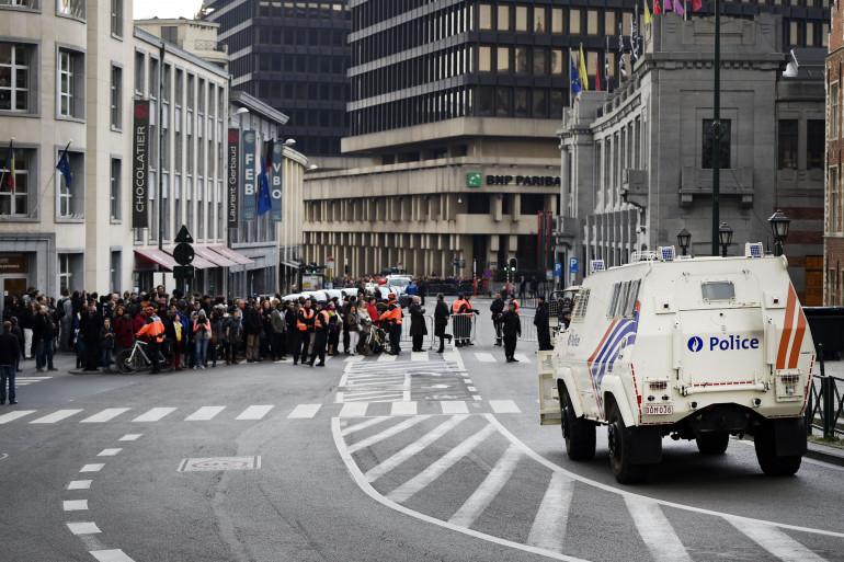La police belge coopère avec les autorités françaises pour trouver les auteurs des attentats de Paris (illustration)