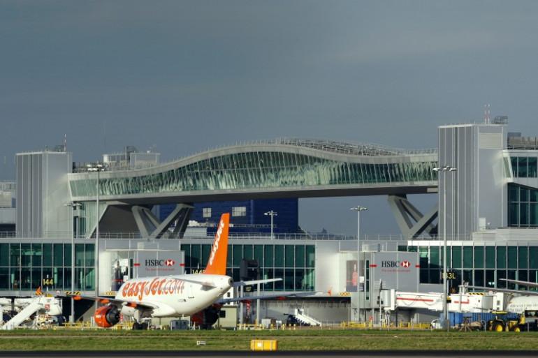 L'aéroport de Gatwick au sud de Londres (illustration).