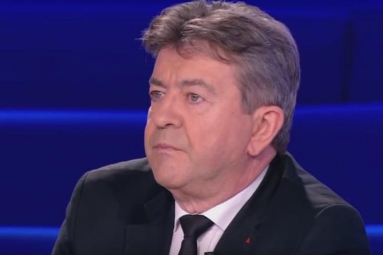 Jean-Luc Mélenchon sur le plateau d'On n'est pas couché
