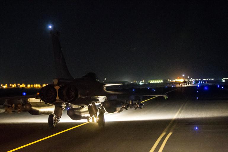 La France a à nouveau frappé l'État islamique à Raqqa en Syrie