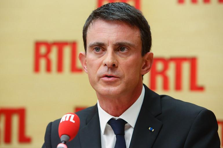 Manuel Valls, invité de RTL, le 16 novembre 2015