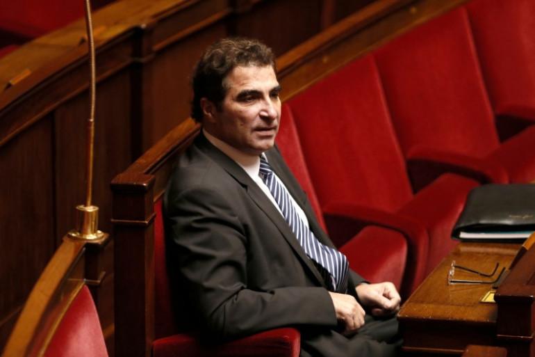 Le président du groupe UMP à l'Assemblée Christian Jacob, le 28 novembre 2014 (archives)