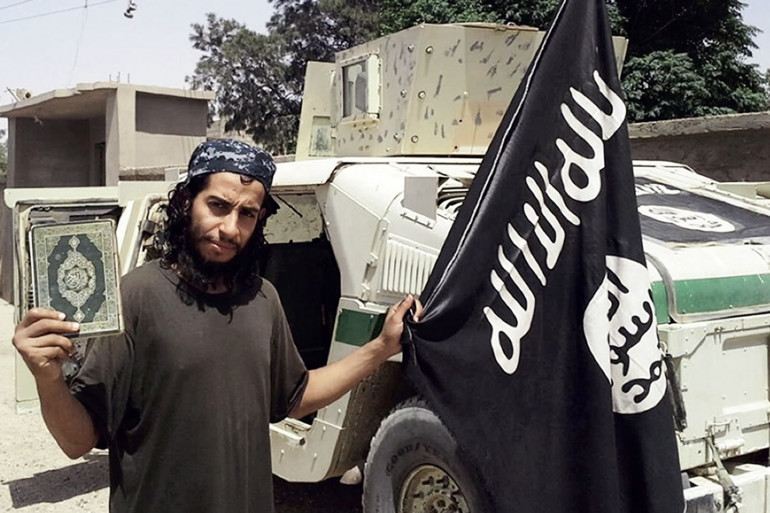 Abdelhamid Abaaoud, le commanditaire présumé des attentats de Paris, en novembre 2015