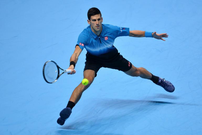 Novak Djokovic en novembre 2015 à Londres