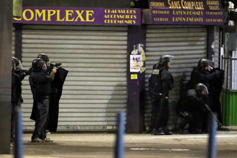Intervention du RAID à Saint-Denis
