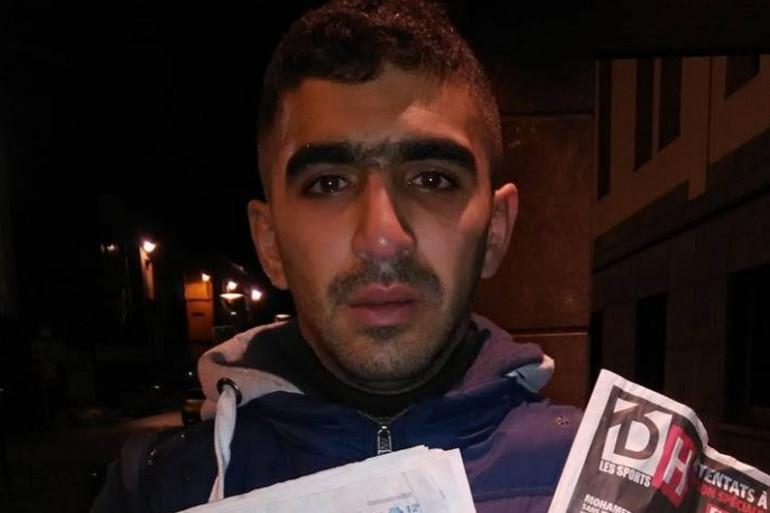 Attentats à Paris : accusé à tort d'être l'un des kamikazes, un innocent découvre sa photo en une de deux journaux belges