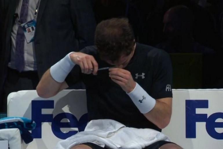 Andy Murray mercredi 18 novembre 2015 à Londres