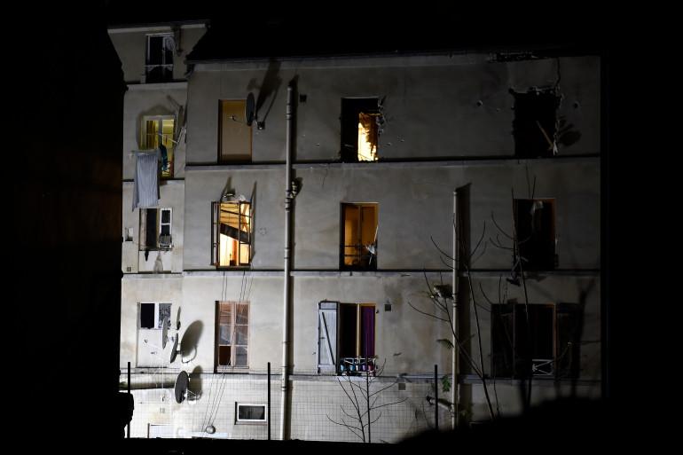L'immeuble pris d'assaut par le RAID et la BRI à Saint-Denis