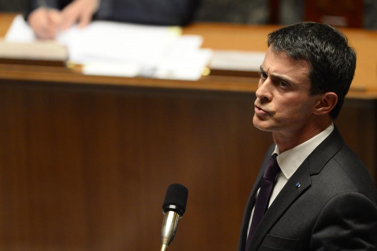 Manuel Valls le 18 novembre 2015