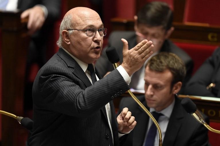 Ministre des Finances Michel Sapin (archive)