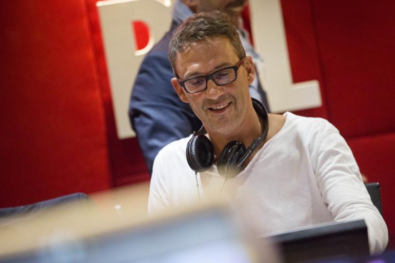 Julien COURBET dans le studio de CPVA - Crédit Romain Boé Abaca Press