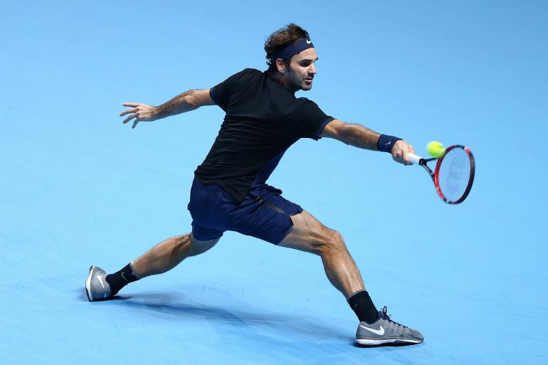Roger Federer à Londres en novembre 2015