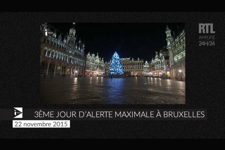 ZAPPEUR - Troisième jour d'alerte pour Bruxelles