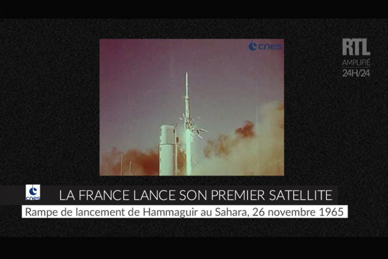 ZAPPEUR - Premier envoi d'un satellite français dans l'espace