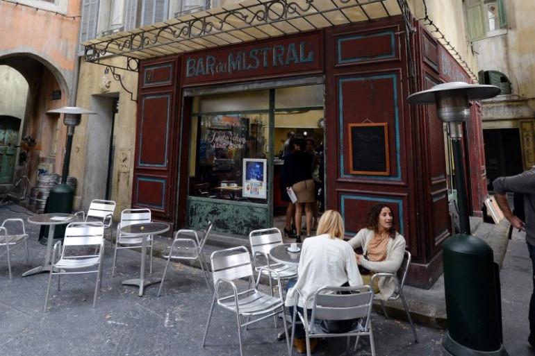 """Un tournage de """"Plus belle la vie"""" à Marseille, le 27 septembre 2012."""
