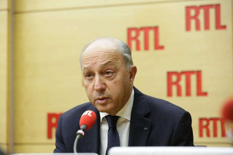 """""""La chute de Raqa est un des nos premiers objectifs militaires"""" prévient Laurent Fabius sur de RTL le 27 novembre 2015"""