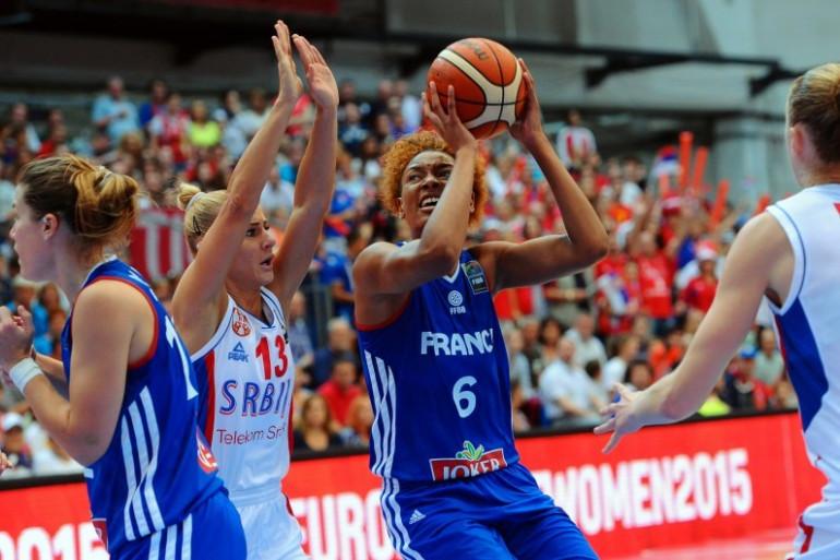 L'équipe de France féminine s'est inclinée en finale de l'Eurobasket contre la Serbie le 28 juin 2015