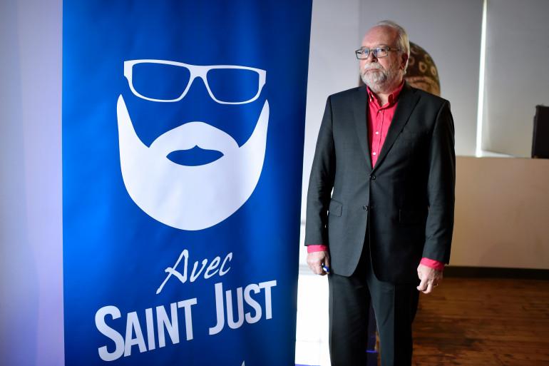 Wallerand de Saint Just, tête de liste Front nationale pour les régionales en Île-de-France